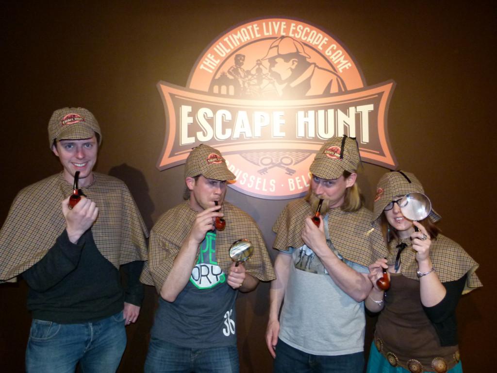 Escape room fun.